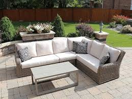 Insideout Patio Laurent 3pc Sectional Warm Driftwood Insideout Patio Furniture
