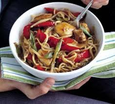 cuisine wok facile chicken noodles recipe food
