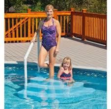 pool ladder top above ground pool ladders pool steps u0026 pool