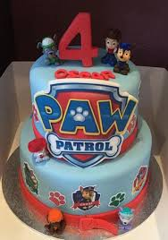 Paw Patrol Cake Decorations Paw Patrol Cake Picture Of Kittys Tilted Teacup Tea Room