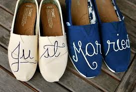 Wedding Shoes Toms Comfy Custom Wedding Shoes U2014 Bisou Weddings And Events
