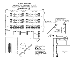 techspo 2013 floor plan bally u0027s atlantic city xtel trade shows