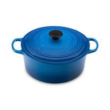 Creuset Pot Le Creuset 5 3 L Marseille French Round Dutch Oven 5 5 Qt