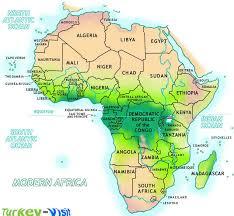 africa map eritrea map