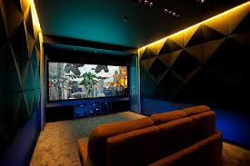 decorations cozy interior design for modern shipping home home theater offers cozy comfort in russia