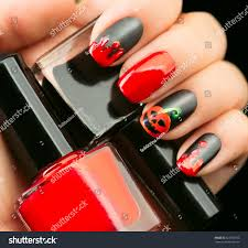 nail art with red nail polish how you can do it at home 25 best