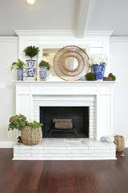 painting fireplace surround ideas free brick photos mantel design