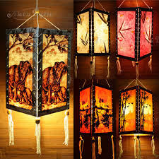 gaiashine thailand oriental lampshade home lamps lighting decor