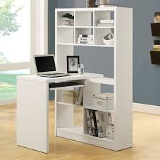 desk with shelves on side monarch specialties i 702 left or right side shelf desk cupboard