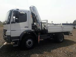 mercedes 4x4 trucks 2008 mercedes 1523 4x4 truck with a dropside and cab
