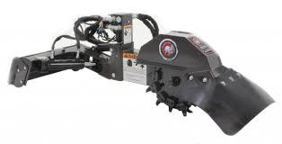 mini skid steer stump grinder industrial series ebay