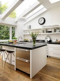 interior designs of kitchen 25 best skylights ideas on glass roof rustic