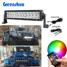 Led Light Bar Color Changing by Bluetooth Light Bar Bluetooth Light Bar Suppliers And