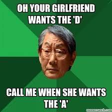Wants The D Meme - your girlfriend wants the d