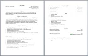 skills resume template 2 two page resume format resume template ideas