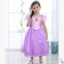 girls dresses kids princess fancy dress costume party