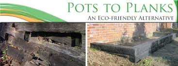 pots to planks a green alternative to railroad ties st louis