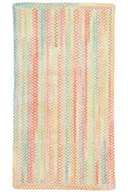 Pink Stripe Rug Light Yellow Baby U0027s Breath Braided Chenille Rug Cottage Home