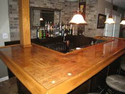 Homemade Bar Top Epoxy Kleer Koat Table Top Epoxy