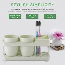 Plastic Bathroom Tumbler Elegant Beautiful Eco Friendly Plastic Bathroom Accessories