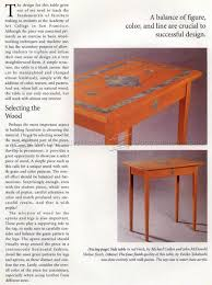 Plans For A Simple End Table by Simple Side Table Plans U2022 Woodarchivist