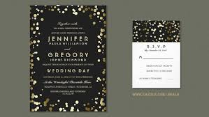 black and gold wedding invitations black and gold wedding invitations isura ink