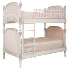 french bunk beds with silk linens pink pretties pinterest