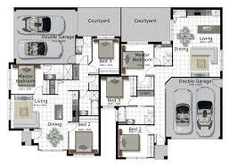 corner lot floor plans corner lot home designs f2f2s 7974 2 story house luxihome