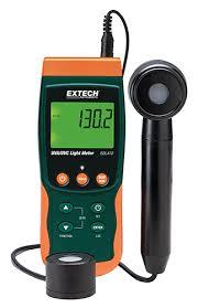 sdl470 uva uvc light meter datalogger extech instruments