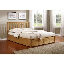 cohiba king size wooden gas lift storage bed frame buy furniture