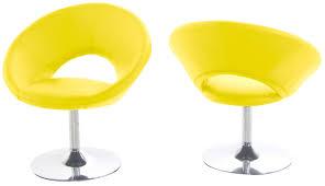 chaise bureau jaune de bureau ergonomique ultra design cortex
