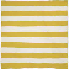 Yellow Outdoor Rug Tasso Plank Yellow 8 Ft X 8 Ft Square Indoor Outdoor Area Rug