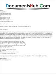 invitation letter for launching ceremony invitation letter to