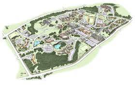 Western Michigan University Campus Map by John Roman Artwork Graphics Architecture