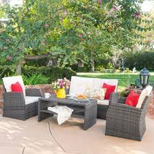 Wicker Armchair Outdoor Wicker Patio Furniture Shop The Best Outdoor Seating U0026 Dining