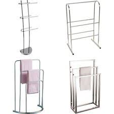 Free Standing Towel Stands For Bathrooms Free Standing Towel Rail Ebay