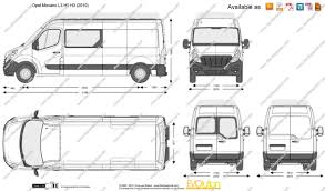 opel movano 2014 the blueprints com vector drawing opel movano l3 h2 h3