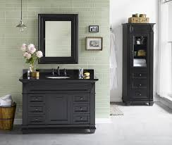 bathroom bold idea black bathroom vanity with sink 4 black