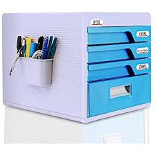 office desk with locking drawers amazon com evertop desktop file cabinet storage box office
