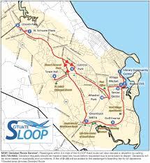 Mbta T Map by Sloop U2013 Scituate Loop