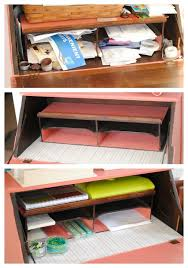 Pretty Desk Organizers The Remodeled Life Organizing Your Small Home Office