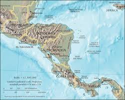 Map Of South And Central America by Central American Crisis Wikipedia