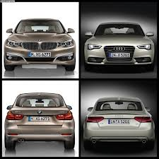 audi a4 comparison photo comparison bmw 3 series gt vs audi a5 sportback