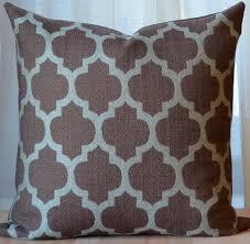 Decorative Pillows Modern Brown Pillow Moroccan Pillow Modern Throw Pillow Decorative
