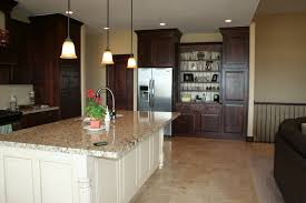 Kitchen Contemporary Cabinets Travertine Floors In Kitchen Picgit Com