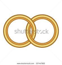 interlocked wedding rings interlocking wedding rings stock images royalty free images