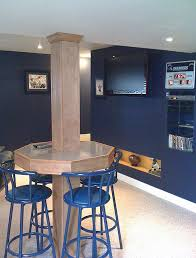 Unfinished Basement Ideas On A Budget How Cool What A Good Use Of The Pesky Posts U2026 Pinteres U2026