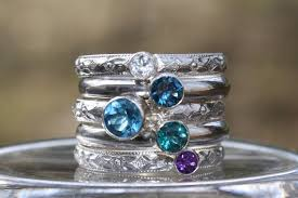stackable birthstone ring 28 best s ring ideas images on stackable rings