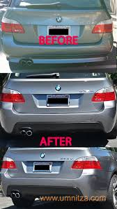 5 series mtech polypropylene touring wagon rear bumper