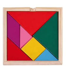 tangram puzzle niceeshop tm children educational colorful wooden